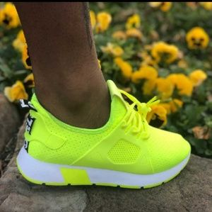 Weeboo Shoes | Womens Lime Green Shoes